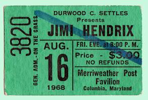 Hendrix tix